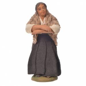 Woman at the balcony, Neapolitan Nativity 10cm s1