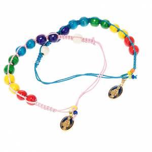 Wooden beads rope bracelet s1