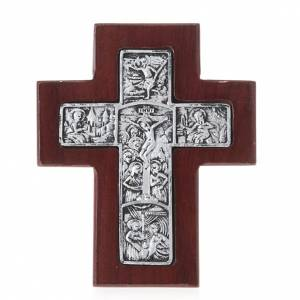 Wooden crucifixes: Wooden cross with stand