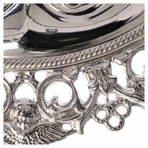 Wota błagalne i dziękczynne: Wotum oczy perforowane srebro 925 lub metal 13x8 cm