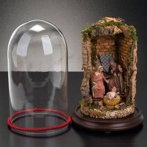 Russian hand-painted nativity set s5