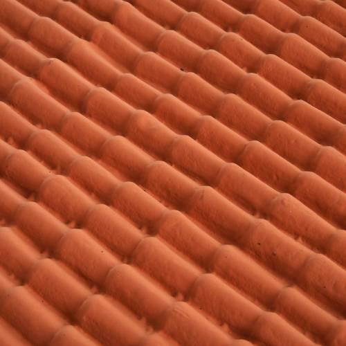 Accessoire crèche plaque pour toit en tuiles s2