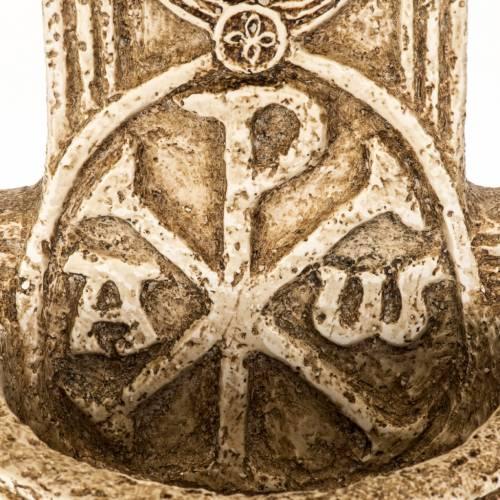 Acquasantiera Bethléem pietra croce s3