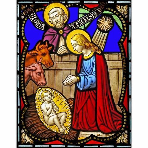 Adhésif Nativité, 23x30 cm 1
