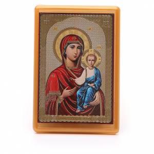 Magnets religieux: Aimant Russie plexiglas Smolenskaya 10x7 cm