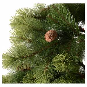 Albero di Natale 210 cm verde pigne Woodland Carolina s5