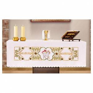 Altar cloths: Altar Cloth 165x300cm Agnus Dei