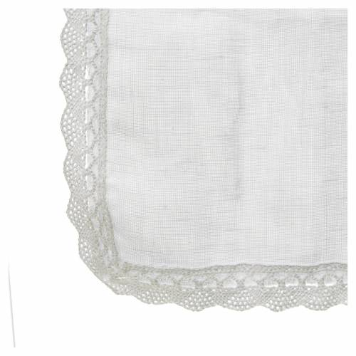 Altar linens, Manuterge in linen and polyester s2