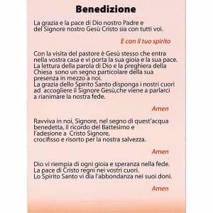 Accessori per Benedizione: Cartoncino benedizione con tealight