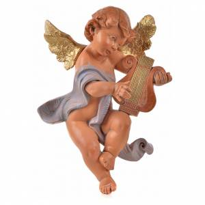 Ange avec lyre 36 cm Fontanini s1