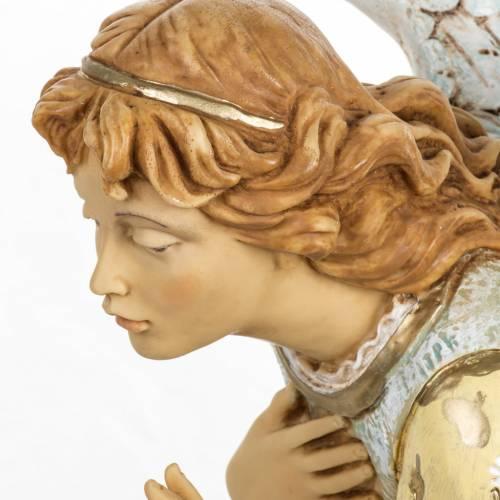 Angelo inginocchiato celeste 65 cm Fontanini s4