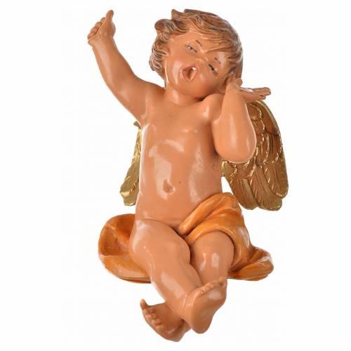 Anges assis 12 cm Fontanini 4 pcs s11