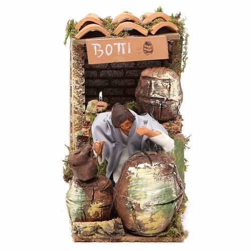 Animated nativity figurine 10cm Cooper s1
