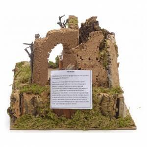 Animated nativity scene figurine, 6cm sheep and shepherd s2