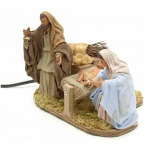Neapolitan Nativity Scene: Animated Neapolitan Nativity 12 cm