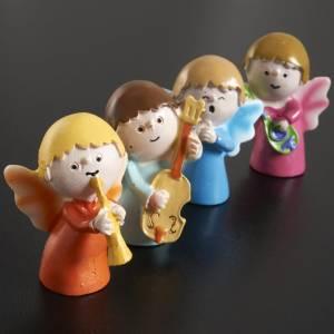 Anioły: Anioły muzykanci żywica 4 sztuki