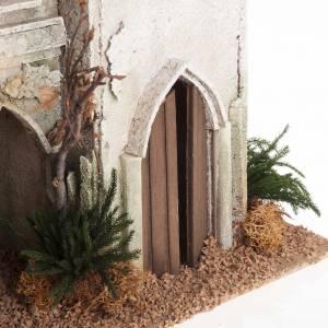 Krippe Häuser, Laden: Arabisches Haus mit Kuppel und Bogen für Krippe