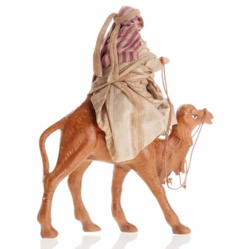 Arabo su cammello 8 cm presepe Napoli s3