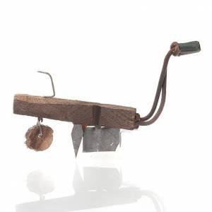 Arado de madera y metal para  el pesebre s1