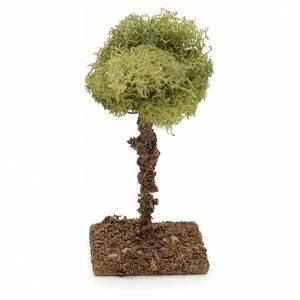 Arbre de lichens pour crèche 9 cm s1