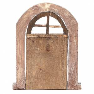 Arch door and columns for nativity 22x14cm s3