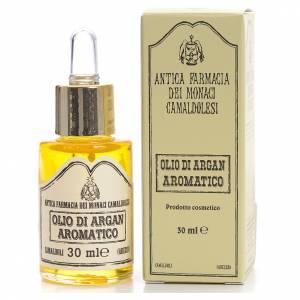 Essential oils: Aromatic Argan oil, skin oil, Camaldoli