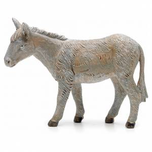 Animales para el pesebre: Asno en pie 19 cm Fontanini