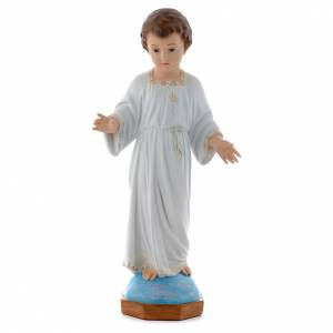 Baby Jesus figurines: Baby Jesus Holy Childhood figurine 75cm by Landi with crystal eyes