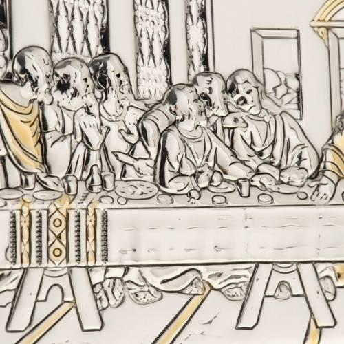 Bajorrelieve oro/plata última cena de Leonardo s2