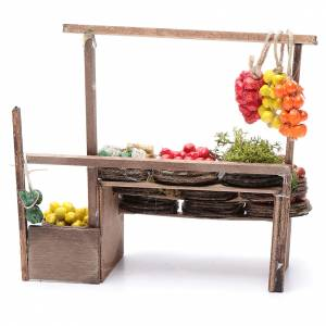 Banc des fruits miniature crèche Napolitaine s4
