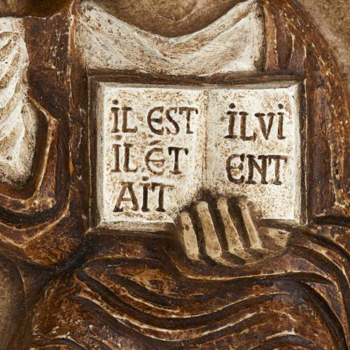Bas-relief de Jésus le vivant s3