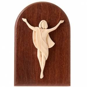 Bas relief Jésus Ressuscité Azur Loppiano s1