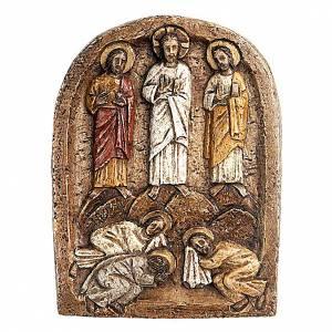 Bassorilievi pietra: Bassorilievo Trasfigurazione scuro