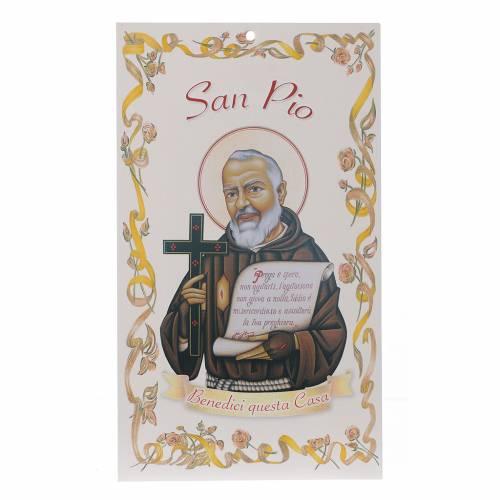 Bedición casas: San Padre Pío con oración ( s1