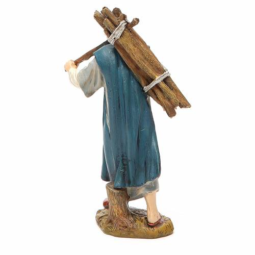Berger avec bois résine peinte 12 cm gamme économique Landi s2