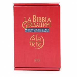 Biblias: Biblia Jerusalén ITALIANO con CD