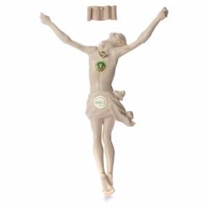 Body of Christ, Corpus model in natural Valgardena wood s2
