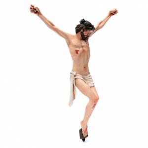 Body of Christ, Neapolitan in terracotta, glass eyes H45cm s3