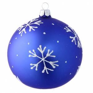 Bola Árbol de Navidad muñeco de nieve 100 mm s2