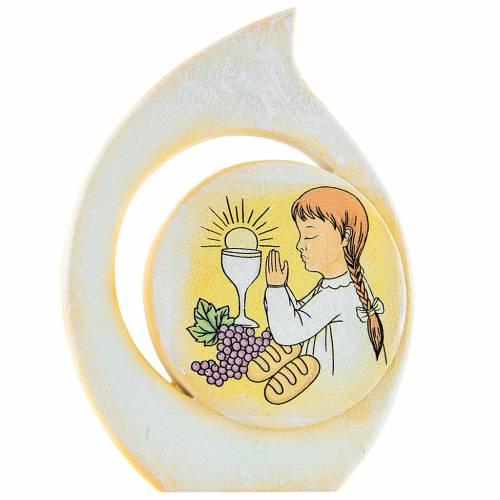 Bomboniera comunione goccia bimba 11 cm 1