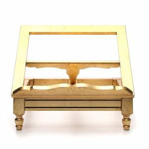 Book stands: Book stand made with gold leaf