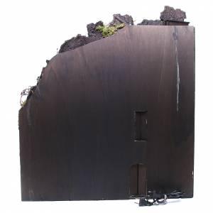 Borgo completo presepe Napoli fontana forno mulino 80x70x40 cm s4