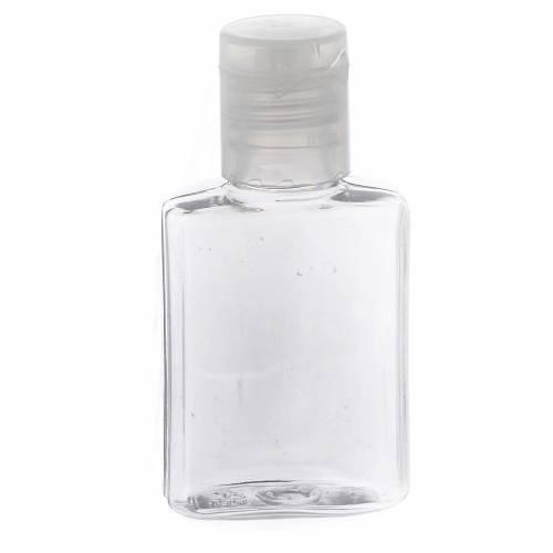 Bottiglietta acquasanta plastica trasparente s1
