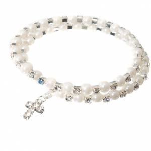 Bracelet à ressort, cristal, paillettes s6