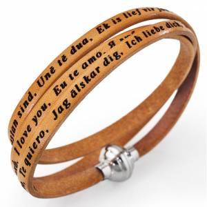 Bracelet Amen Je t'aime toutes les langues chameau s1