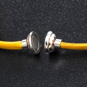 Bracelet Amen Notre Père jaune ESP s2