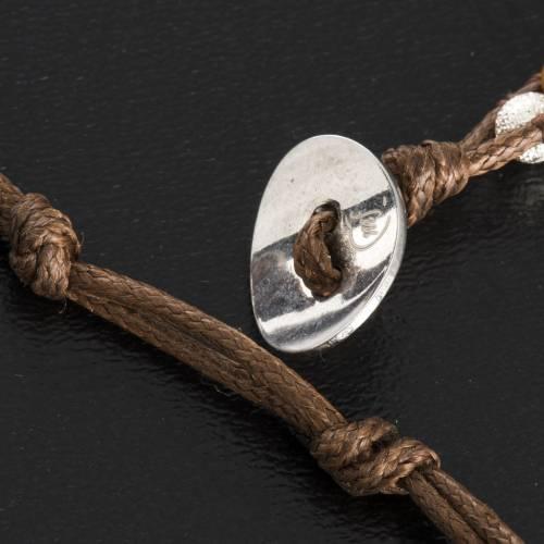 Bracelet chapelet oeil de tigre 4mm s5