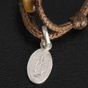 Bracelet chapelet oeil de tigre 4mm s4