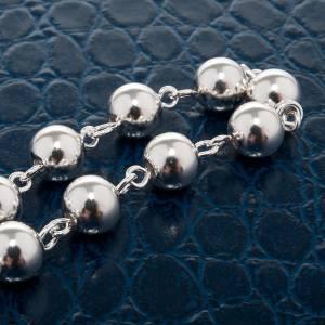 Bracelet dix grains, argent 800 s3