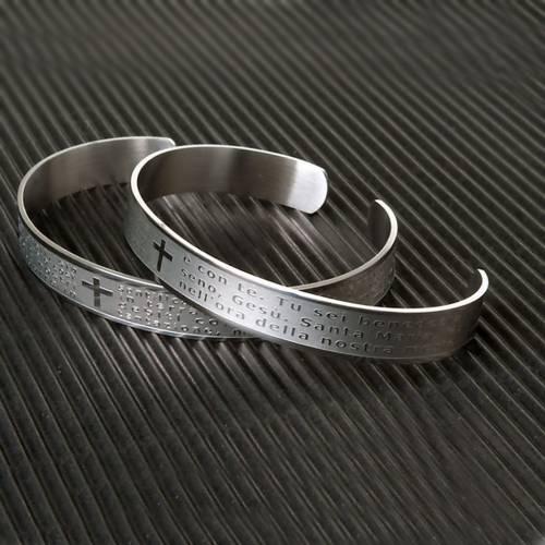 Bracelet prière, inox s3